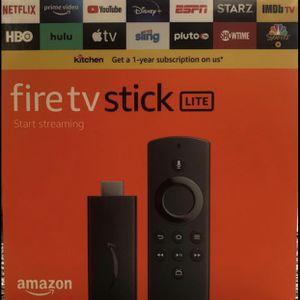 Fire Tv stick Lite for Sale in Spring Hill, FL