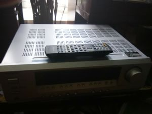 500 Watts onkyo receiver with remote control for Sale in Washington, DC