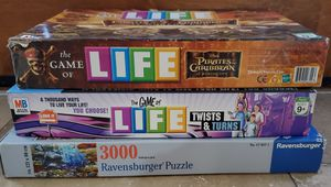 Set of Life games and puzzle for Sale in SUPRSTITN Mountain, AZ