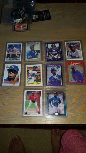 Baseball cards- ken griffey jr san bernardino rc and more for Sale in Salem, OR