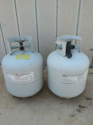 Propane Tanks $50 OBO for both. for Sale in Mesa, AZ
