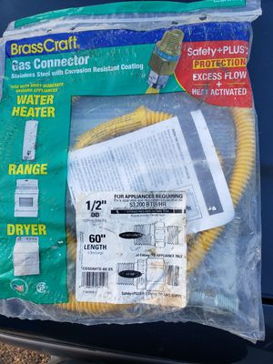 Gas line 1/2 inch water heater ect. for Sale in Aurora, CO