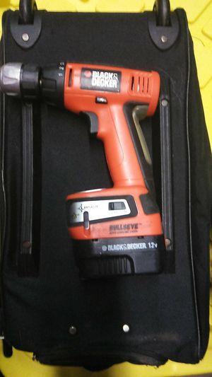Black & decker 12v cordless drill for Sale in New Orleans, LA