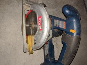 Ryobi table saw plus battery I do have extra batteries and chargers for Sale in West Jordan, UT