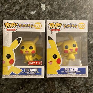 Pikachu-Pokémon-Bundle of 2 Pops for Sale in Honolulu, HI
