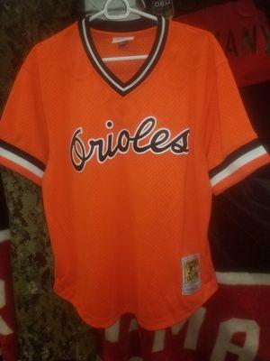 Orioles 8 Cal Ripken Jr. Jersey size 44 L for Sale in Norfolk, VA