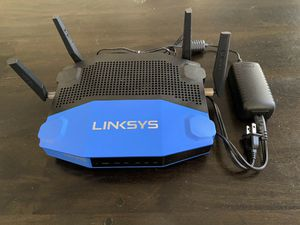 Linksys WRT1900AC Dual-Band 4 Port Wi-Fi Router 1300 Mbps for Sale in Spicewood, TX