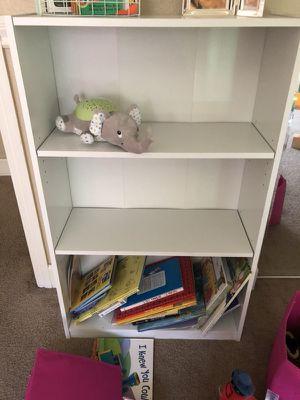 White bookcase for Sale in Patterson, CA