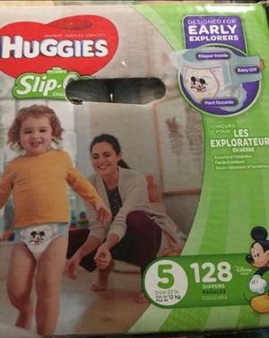 Huggies diapers size 5 Slip on Little Movers for Sale in Downey, CA