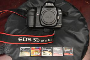 Canon 5d MarkII with extra stuff for Sale in Orange, CA