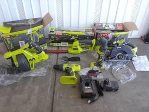 RYOBI EVERYTHING FOR $80 for Sale in Bloomington, CA