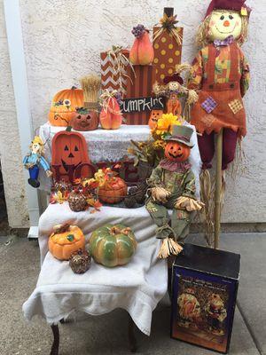 Fall decorations galore for Sale in Sacramento, CA