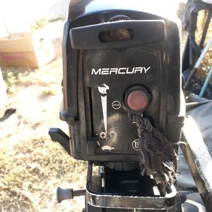 3.5hp 2 stroke mercury for Sale in Hacienda Heights, CA