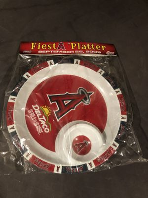 Angels Fiesta Chip Dip Platter for Sale in West Covina, CA