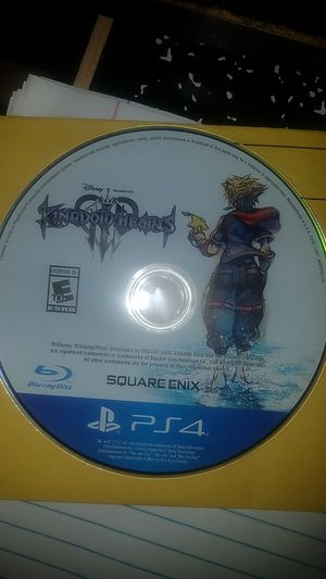 Kingdom hearts 3 for Sale in Fort Worth, TX