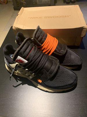 Nike Off White Prestos U(A version for Sale in Rosemead, CA