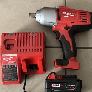 New M18 Milwaukee 1/2 Impact Battery Charger for Sale in Los Angeles, CA