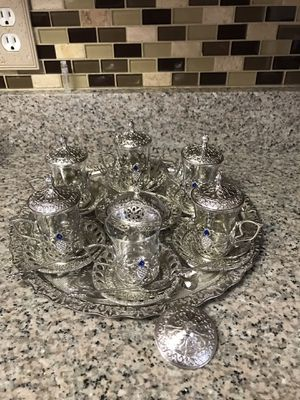 Tea cup set for Sale in Annandale, VA