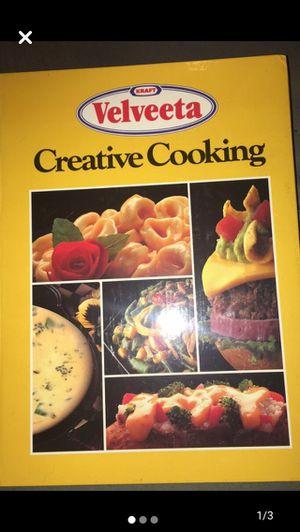 Velveeta creative cooking book for Sale in Overland, MO