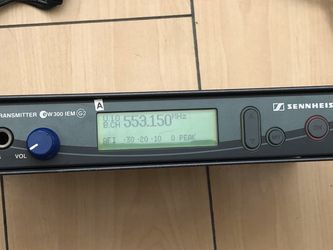 Sennheiser G2 IEM Transmitter A-Band 518-554 MHz for Sale in Santa Monica,  CA