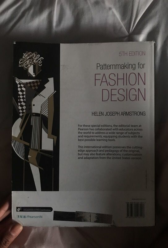 Pattern Making For Fashion Design 5th Edition For Sale In Los Angeles Ca Offerup