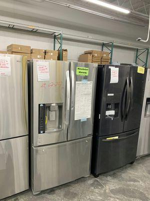 New LG French Door FACTORY WARRANTY for Sale in Hacienda Heights, CA