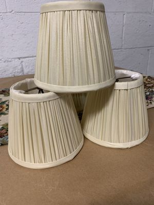 Small Lamp Shades (5) for Sale in Los Angeles, CA