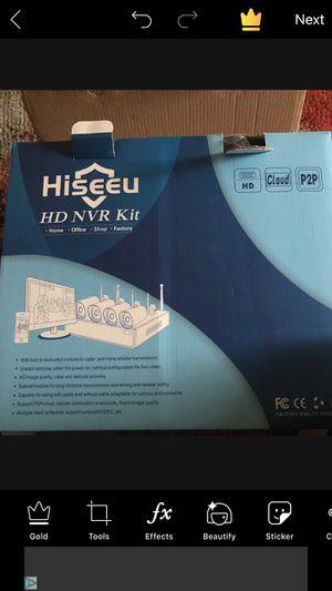 Hisseau high definition security cameras for Sale in Cincinnati, OH