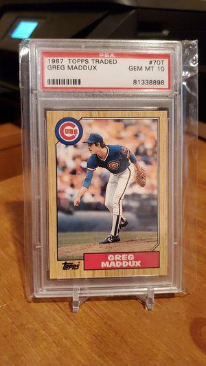 GEM 💎 MINT Greg Maddux rookie card HOF! for Sale in Alexandria, VA