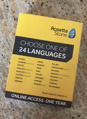 Rosetta Stone for Sale in Brentwood, TN