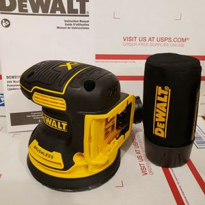 DEWALT XR SANDER 20V NEW for Sale in Livonia, MI