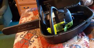 Chainsaw brand new only used ir twice for Sale in Aberdeen, WA