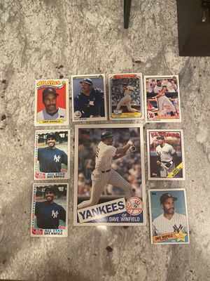 Dave Winfield Baseball Card Lot for Sale in Vienna, VA