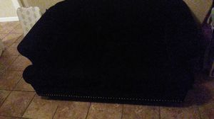 Black cute little couch for Sale in Houston, TX