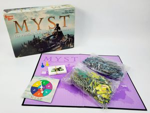 MYST : The Puzzeling New Board Game Adventure - Based on Big Box PC Game (1998) for Sale in Trenton, NJ