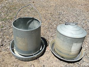Chicken Feeder & Waterer for Sale in Bend, OR