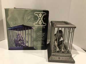 X-FILES ABDUCTED SMOKING ALIEN for Sale in Millville, NJ