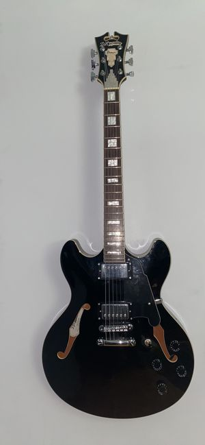 Black D'Angelico Electric Guitar for Sale in Seattle, WA