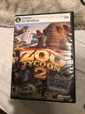 Zoo tycoo 2 Computer game for Sale in Hollywood, FL