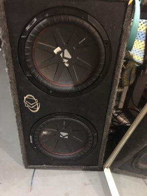 "Kicker 12"" subwoofer for Sale in Columbus, OH"