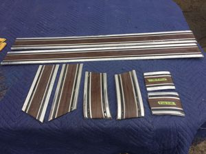 69-72 Chevy Gmc c10 c20 c30 trick lower belt moldings for Sale in Modesto, CA
