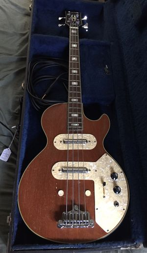 Amazing Custom 1970s Gibson Les Paul (Triumph?) SHORT SCALE Bass- in great condition - PRICE REDUCED - buy now! for Sale in Lombard, IL