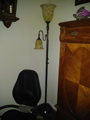 Floor lamp glass globes for Sale in Las Vegas, NV