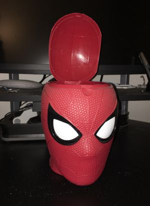 Spider-Man popcorn/ candy storage container for Sale in Happy Valley, OR