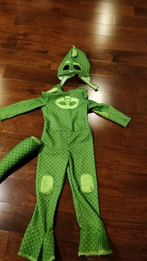PJ Masks Gecko Halloween costume for ages 4-5 for Sale in Redmond, WA