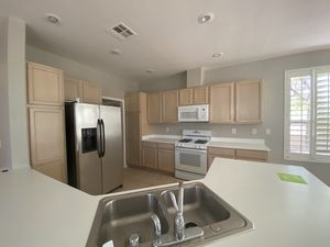 Whole kitchen cabinets with counter top and bath vanity for Sale in Las Vegas, NV