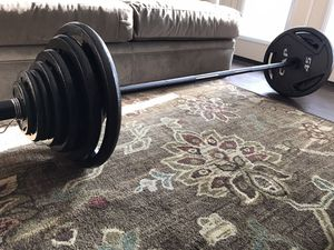 CAP OLYMPIC 300 LB WEIGHT SET for Sale in Plano, TX