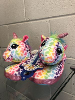 Unicorn slippers for Sale in Clover, SC