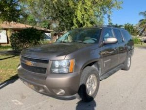 Mint Condition 2013 Chevy Suburban LT fully loaded leather panoramic sunroof TV DVD clean title good miles guaranteed approval for all for Sale in Miramar, FL