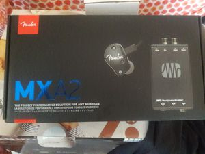 Fender MSA2 bundle *studio quality headphones* for Sale in Corona, CA